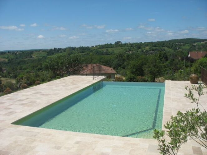 Les plus belles piscines avec de la mosa que piscine for Piscine de sable