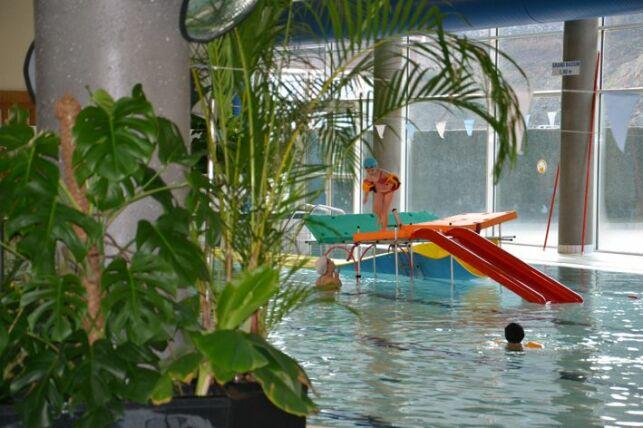 la pataugeoire de la piscine à Dunières