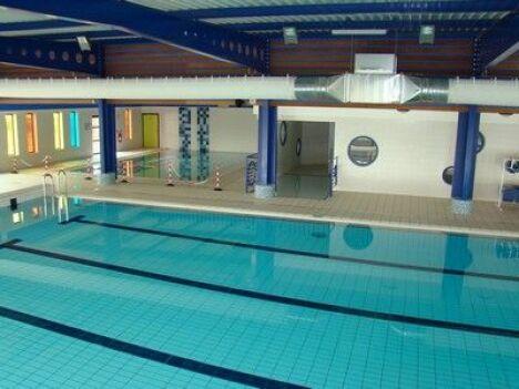 """La piscine à Escaudain est idéale pour faire des longueurs<span class=""""normal italic petit"""">DR</span>"""
