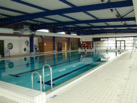 """Piscine à Escaudain : le bassin de 25m.<span class=""""normal italic petit"""">DR</span>"""