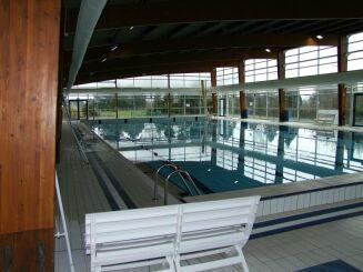 Le bassin de 25m à Solesmes