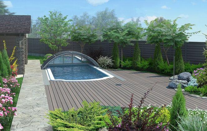 piscine abri telescopique easypool © dr