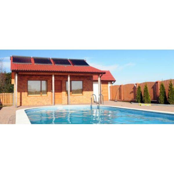 Une piscine l nergie solaire une alternative cologique et conomique - Panneaux solaire pour piscine ...