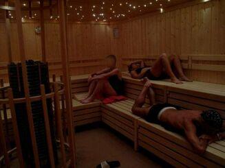 Le sauna à Ergue Gaberic