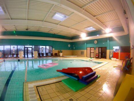 """La piscine Aquacove à Briec de l'Odet dispose de matériel pour animer les sorties à la piscine !<span class=""""normal italic petit"""">DR</span>"""