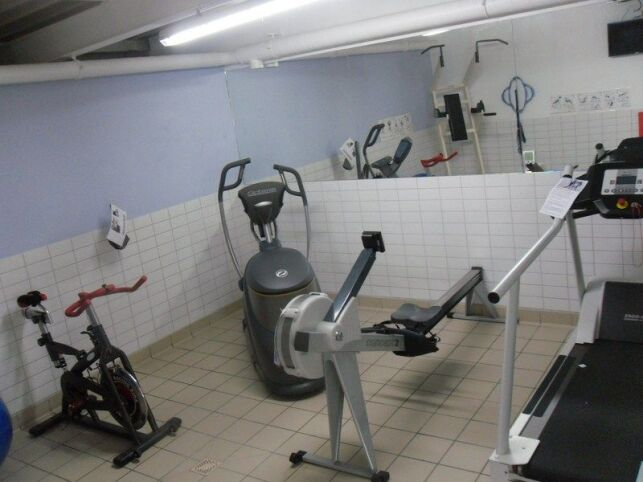 L'espace fitness de la piscine Aquacove à Briec de l'Odet