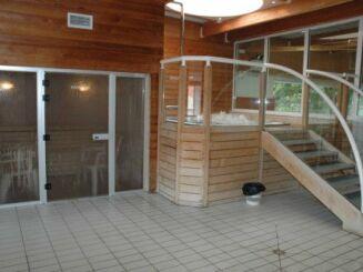 Le jacuzzi de la piscine Aqualude à Montbrison