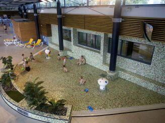 La pataugeoire de la piscine à Quimperlé