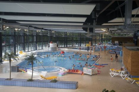 Piscine aquapaq de kergoaler quimperl horaires for Piscine lorient