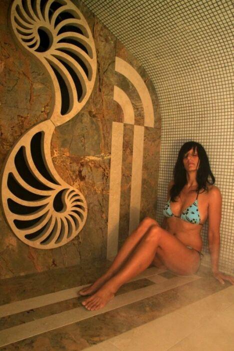Le hammam de la piscine Archipel à Agde