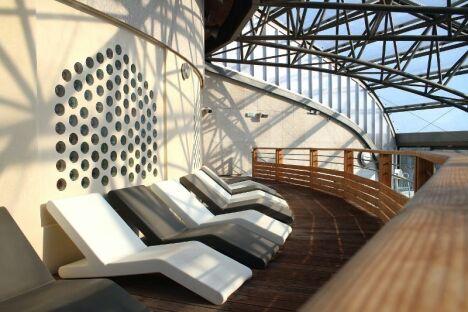 """Un petit bain de soleil à la piscine Archipel à Agde ?<span class=""""normal italic"""">DR</span>"""