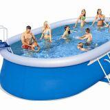 Produit piscines hors sol les diff rents types - Piscine autoportante ovale ...