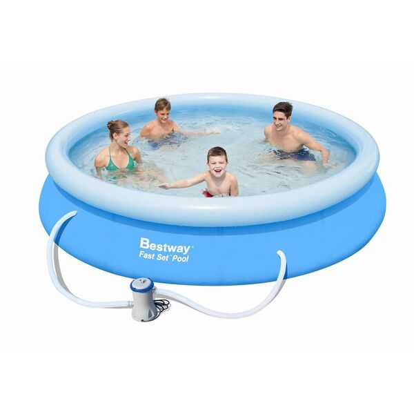 Piscine autoportante ronde bestway for Piscine autoportante