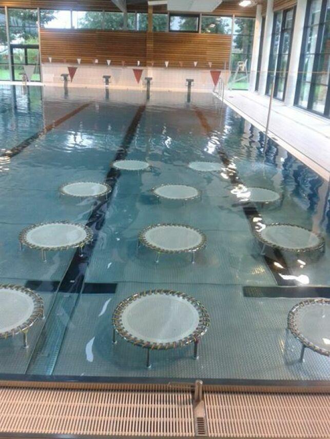 Piscine Beau Soleil de Questembert : les trampolines