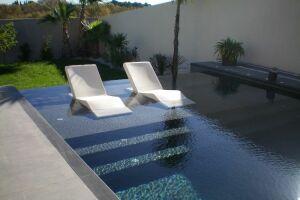 piscine plage terrasse