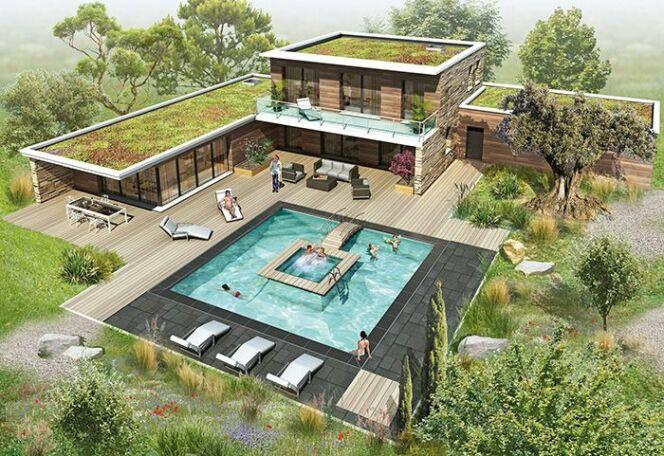 La piscine BI-O d'Aquilus Piscines