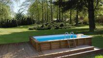 Piscine en bois rectangulaire Sunbay (EGT Aqua)