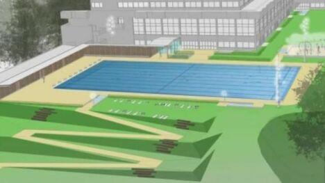 """Le nouveau bassin Olympique """"Nordique"""" de la piscine Municipale Bréquigny à Rennes"""