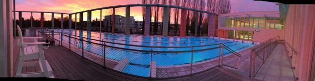 Caséo à Louviers, et son bassin de plein air