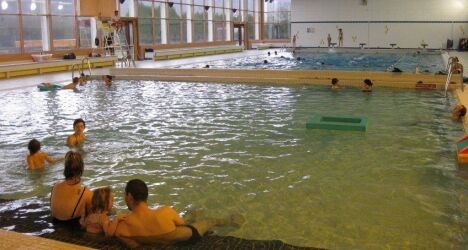 Le petit bassin à la piscine Charles Kaufmann à Champigneulles
