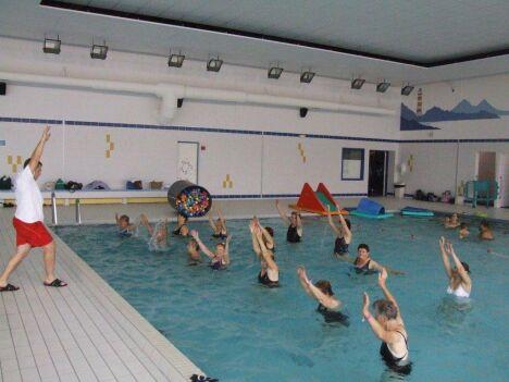 Les cours d'aquagym à Champigneulles