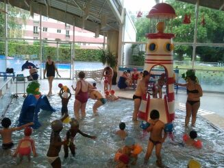 L'espace enfant de la piscine Chemin Vert à Caen