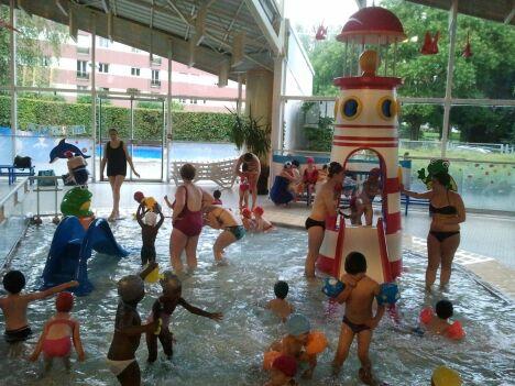 """L'espace enfant de la piscine Chemin Vert à Caen<span class=""""normal italic petit"""">DR</span>"""