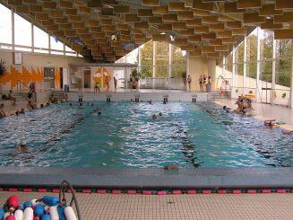 Piscine Chemin Vert à Caen : le bassin sportif