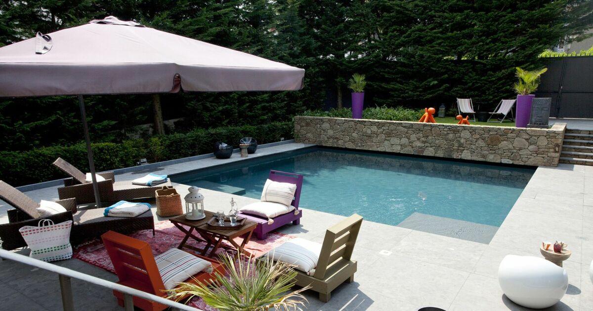piscine citadine carr bleu piscine enterr e piscines carr bleu. Black Bedroom Furniture Sets. Home Design Ideas