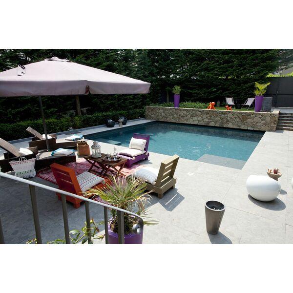 piscine citadine carr bleu piscine enterr e piscines. Black Bedroom Furniture Sets. Home Design Ideas