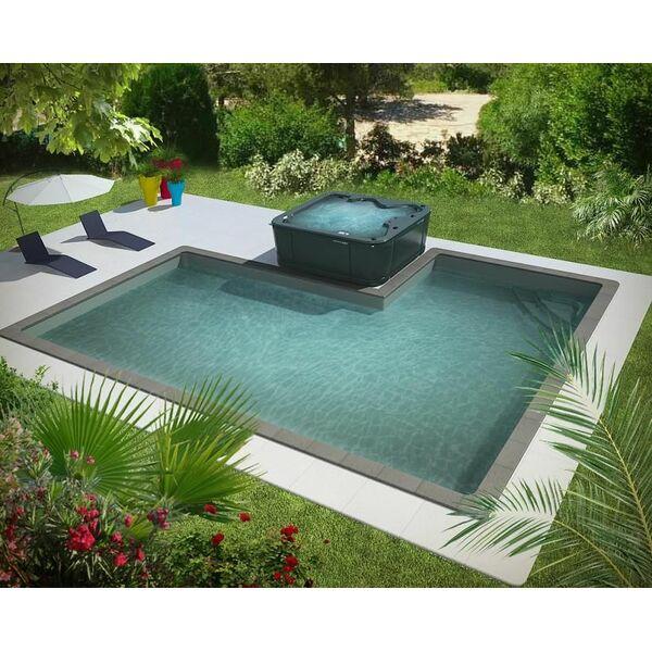 Piscine concept piscine spa par aquilus for Piscine spa
