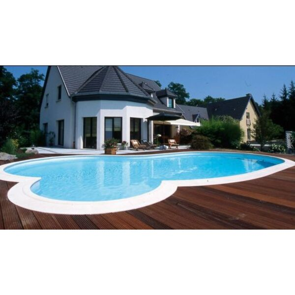 Piscine contemporaine claire waterair for Piscines contemporaines