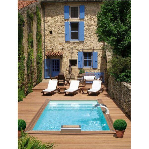 piscine cr piscine enterr e piscinelle. Black Bedroom Furniture Sets. Home Design Ideas