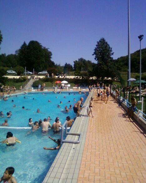"""La piscine d'Aurignac, très prisée en été<span class=""""normal italic petit"""">DR</span>"""