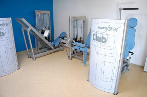 """Piscine d'Egletons : la salle de musculation<span class=""""normal italic petit"""">© Centre aqua récréatif d'Egletons</span>"""
