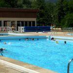 Piscine d'été de Cauvel à Alès