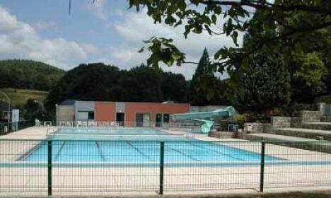La piscine d'été d'Eymoutiers
