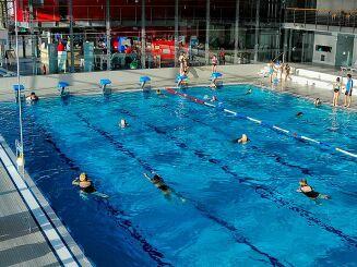 Le bassin sportif de piscine Das Blau à St. Ingberter