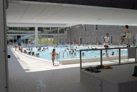 "Le grand bassin sportif de la piscine de Caluire et Cuire<span class=""normal italic"">© ville de Caluire et Cuire</span>"