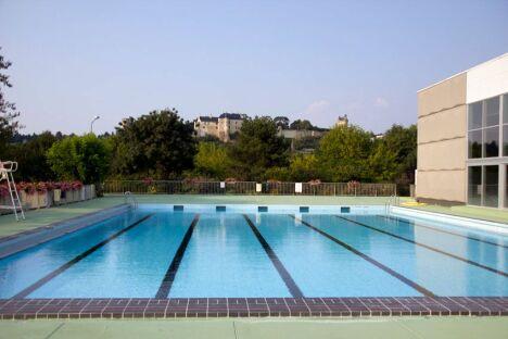 """Piscine de Chinon : le bassin découvert<span class=""""normal italic petit"""">DR</span>"""