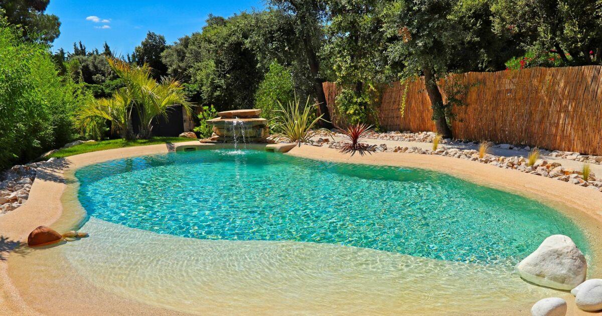 Photos de piscines de forme libre piscine de forme libre - Camping a mimizan plage avec piscine ...
