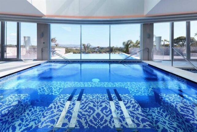 Piscine de l'hôtel Conrad Algarve à Almancil (Portugal)
