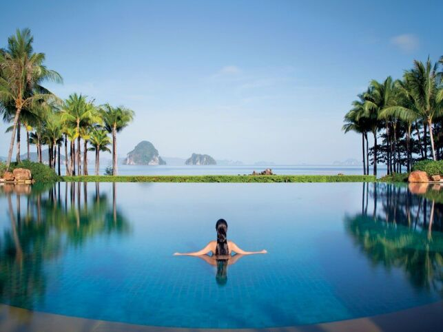 Piscine de l'hôtel Phulay Bay à Krabi, en Thaïlande