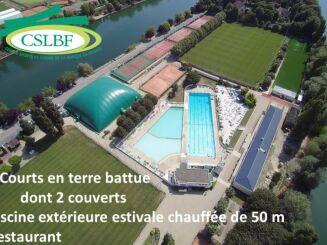 Piscine de la Banque de France à Bougival