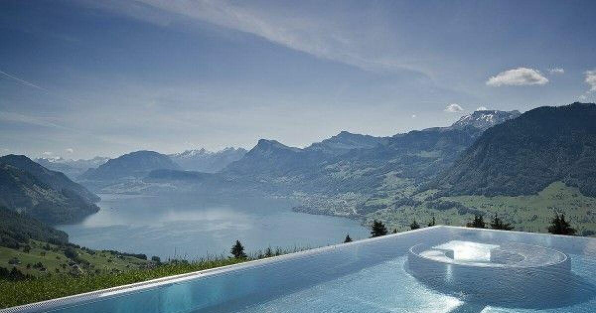 Quelques unes des plus belles piscines du monde for Piscine en suisse