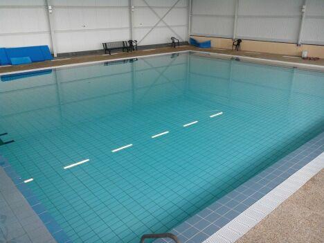 """La bassin d'apprentissage de la piscine de Lavit de Lomagne<span class=""""normal italic petit"""">DR</span>"""