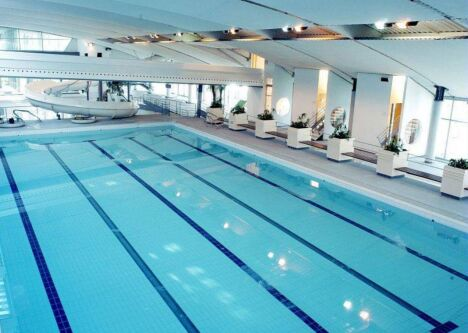 """Aquarive à Quimper : le bassin sportif<span class=""""normal italic petit"""">DR</span>"""