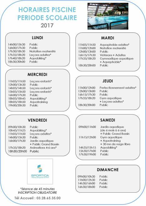"""Piscine de Sportica à Gravelines<span class=""""normal italic petit"""">DR</span>"""