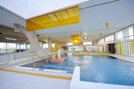 Le bassin moyen à la piscine des Weppes à Herlies