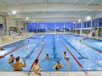 Le grand bassin de la piscine des Weppes à Herlies